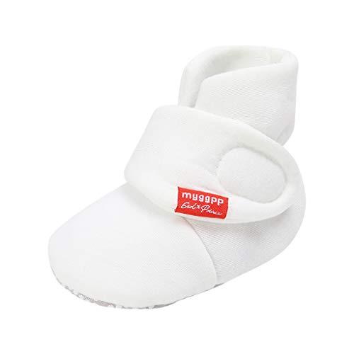Designer Kostüm Cinderella - Sllowwa Baby Neugeborene Schuhe Jungen Mädchen Weiche Lauflernschuhe rutschfest Feste Mode Schuhe(Weiß,12)