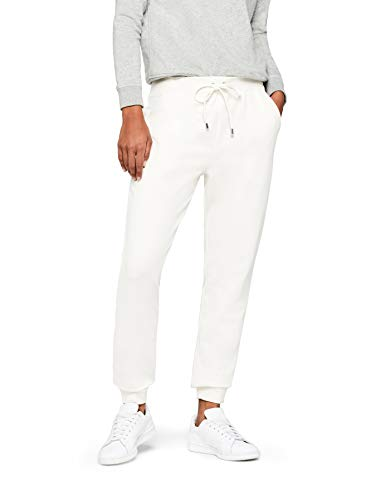 find. Jersey Jogger Pantalon, Blanc White, W36/L32 (Taille Fabricant: 46)
