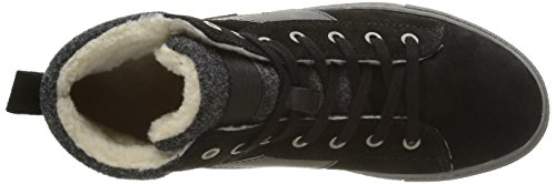 Tamaris 262, Scarpe da Ginnastica Alte Donna Nero (Black Comb 098)