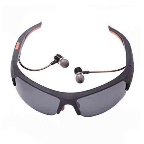 Kabellose Bluetooth-Sonnenbrille für Herren, verhindert effektiv UV-Strahlen und schädliches blaues Licht, polarisierte Sport-Sonnenbrille, unterstützt kabelloses Headset und Freisprecheinrichtung (Blau Polarisierten Sonnenbrillen)