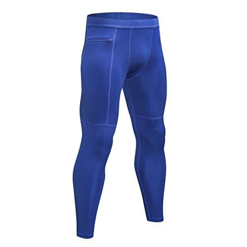 OPALLEY Herren Kompression Sport Leggings Baselayer Tight Hose Lang Unterhose Laufhose für Männer