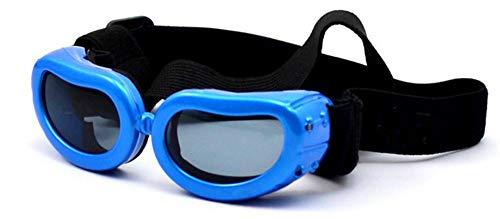 KOMNY UV400 Schutz Mode Kleinen Hund Sonnenbrille Katze Welpen Doggy Goggle Pet Zubehör Brille Kleiner Hund Eyewear Brille, B