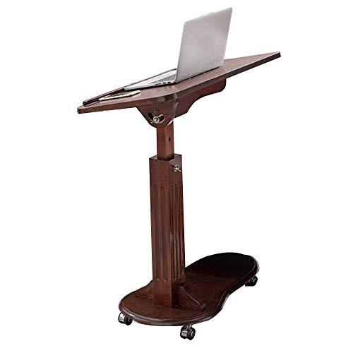 xy Klapptisch- Birke kann den Präsidenten-Podium-Laptop-Tisch Mobilen Tisch Bett Couchtisch mit Rad Sofa Beistelltisch anheben