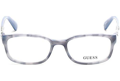 Guess Unisex-Erwachsene Brillengestelle GU2558 056 51, Braun (Avana)