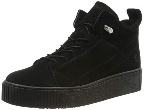 Tamaris Damen 1-1-25258-23 Sneaker, Schwarz (Black 1), 39 EU
