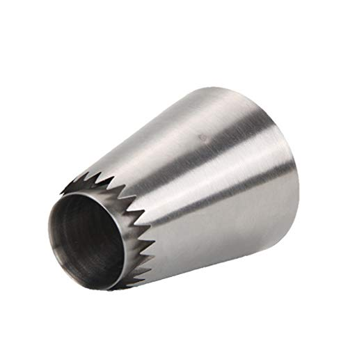 Busirde Edelstahl-Icing Piping Nozzle-Creme-Kuchen, Gebäck TIPP Fondant-Kuchen-Werkzeuge Backen Accessoire Abschnitt b Kuchen-tipp