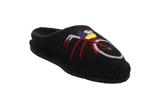 Pantofole Da Donna Haflinger Flair Radl Nero