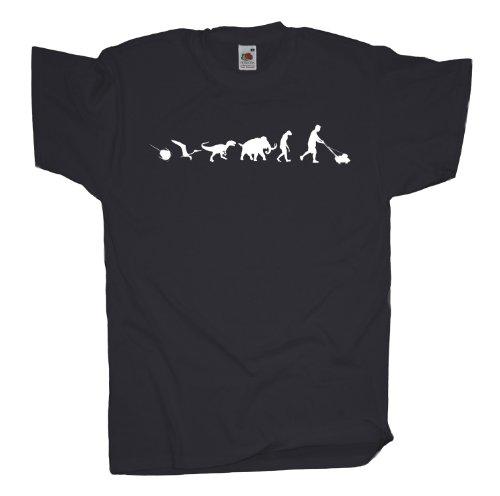 Ma2ca - 500 Mio Years - Garten Gärtner T-Shirt Charcoal