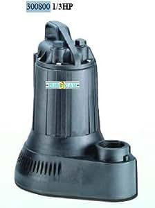 Bur-Cam Pumps 300800 10 ft. Schmutzwassertauchpumpe .33 HP
