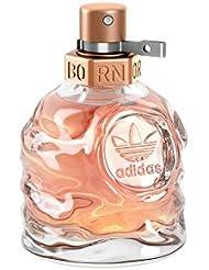 adidas Born Original Eau de Toilette – Fruchtig-blumiges Damen Parfüm mit explosivem Mix aus kontrastierenden Düften – 1 x 30 ml
