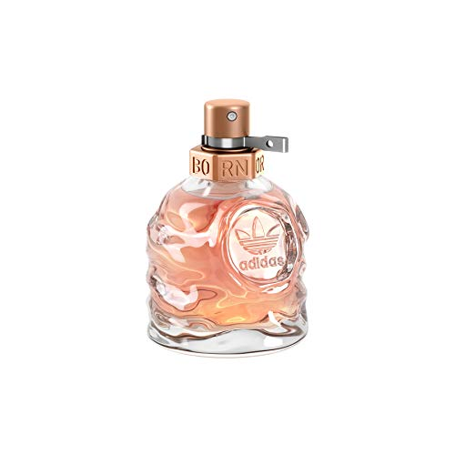 adidas Born Original Eau de Toilette - Fruchtig-blumiges Damen Parfüm mit explosivem Mix aus kontrastierenden Düften - 1 x 30 ml -