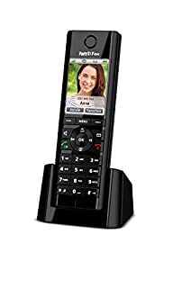 AVM FRITZ!Fon C5 DECT-Komforttelefon (hochwertiges Farbdisplay, HD-Telefonie, Internet-/Komfortdienste, Steuerung FRITZ!Box-Funktionen) schwarz, deutschsprachige Version (B01BBWWFB2) | Amazon Products
