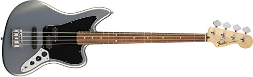 Standard Jaguar Bass Pau Ferro Fretboard Ghost Silver (Guitar Jaguar Bass Fender)