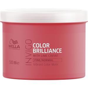 Wella Invigo Color Brilliance Vibrant Color Mask 500 ml - Antioxidant Conditioner