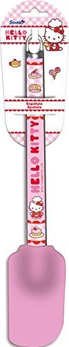 Stor 77944 Spatule en silicone avec motif Hello Kitty et cravate Tag