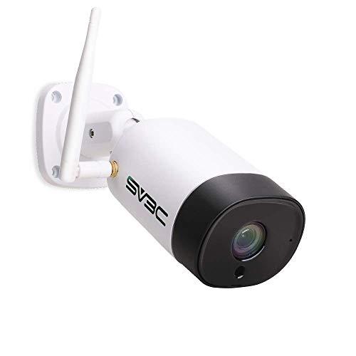 hungskamera Aussen WLAN IP Kamera Outdoor WiFi IP67 Wasserdicht Wireless mit Zwei-Wege-Audio, Bewegungserkennung, 20M Nachtsicht Kompatibel mit Smartphones,Tablets und Windows PC ()
