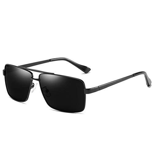 YZYCA Die Sonnenbrille Der Modetrendpolarisator-Männer Klassischer Großer Rahmen Retro Polarisierter Treibender Spiegel