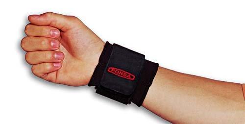 PONSA. Muñequera de proteccion para trabajo de neopreno ajustable para prevención y recuperación de lesiones. 013250001001