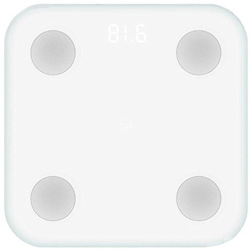 Xiaomi Mi Scale 2 Báscula Inteligente Bluetooth Blanco
