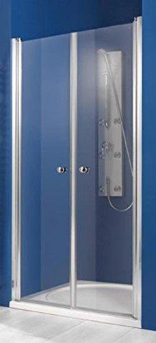 Breuer Elana, Pendeltür mit Glasbeschichtung für Nische 100cm, Versandbereit in 72 Stunden 1631001101005