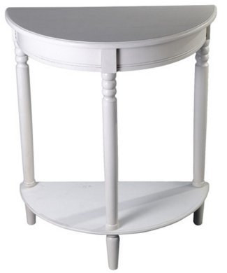 White Console Table - Perfect for Hallways and