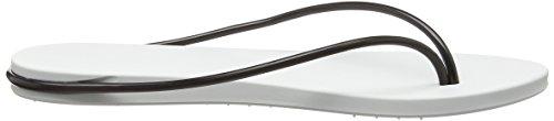 Ipanema - Philippe Starck Thing M Fem, Sandali infradito Donna Bianco (Weiß (white/black 8047))