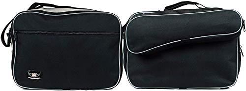GREAT BIKERS GEAR - Gepäckträgertaschen Koffer Innentasche Packtaschen für BMW R1200GS Vario Lc ab 2013, Motorradreisetasche | Packtasche | Innentaschen Packtaschen
