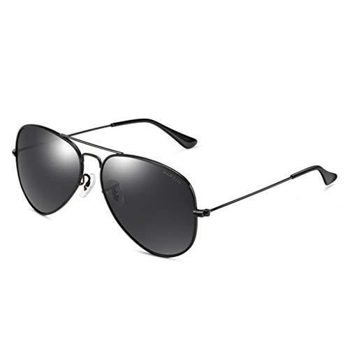 WHQ Sonnenbrille, Anti-Fernlicht-Fahrstrahlschutz Anti-UV-Augenschutz Polarisierte Sonnenbrille Mann QD (Color : A)