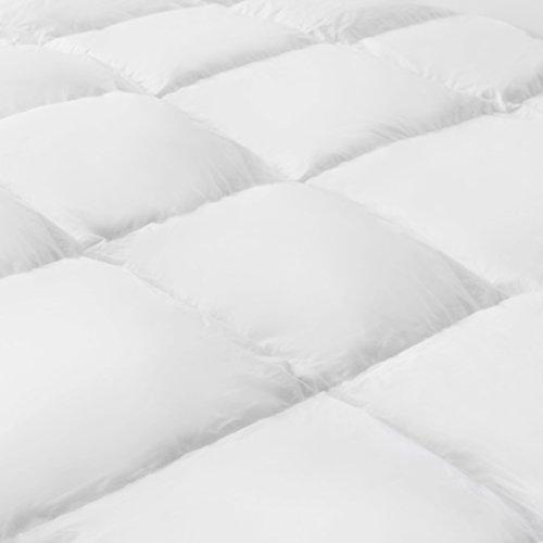 Serena Bettdecke – Mister Sandman, waschbare Daunen Decke, aktmungsaktiv, Decke für Sommer und Winter Steppdecke, Ganzjahresdecke, Öko-tex, made in Germany (Sommerdecke, 155 x 220 cm)