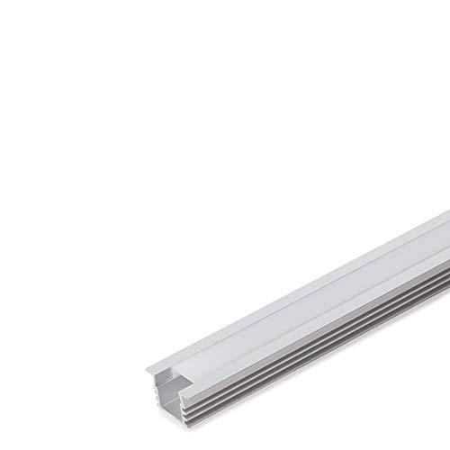 Greenice | Perfíl Aluminio Tira LED Difusor Opal
