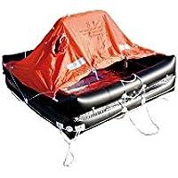 Balsa de rescate Europe ISO 9560Maleta 10personas con Grab Bag–arimar