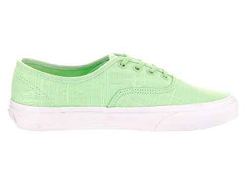 Vans Womens Authentic Cuban Canvas Trainers (Hemp Linen) Patina Green/True White