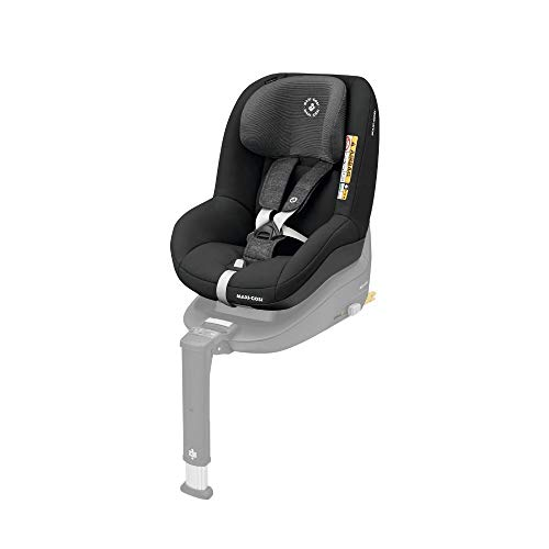 Maxi-Cosi Pearl Smart Kindersitz, Gruppe 1 (9-18 kg) ab 6 Monate - 4 Jahre, rückwärts und vorwärtsgerichtetes Fahren, für Isofix-Basis FamilyFix One i-Size, nomad black Pearl 9