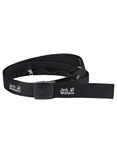 Jack Wolfskin Gürtel SECRET BELT WIDE, black, One size