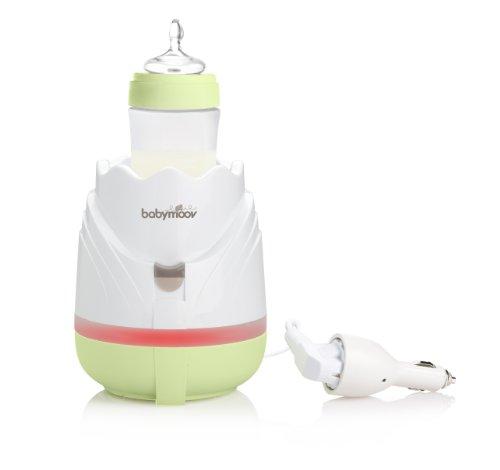 Babymoov A002030 Flaschenwärmer Tulpe für Heim & Auto Zen