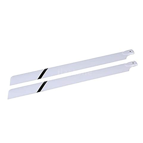 Large fiberglass paddle - TOOGOO(R)Fiber Glass 600mm Main Blades for Align Trex 600 RC Helicopter UK Stock