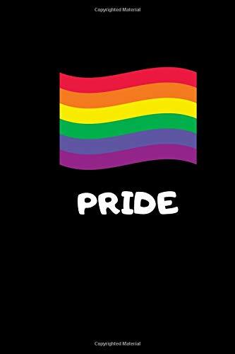 PRIDE: Statement Notizbuch für die LGBTQ-Community, gleichgeschlechtliche Liebe, Gay Pride - 120 Seiten, Dot Grid/Bullet Diary