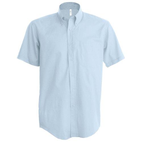 Kariban - Camisa manga corta Modelo Oxford Cuidado