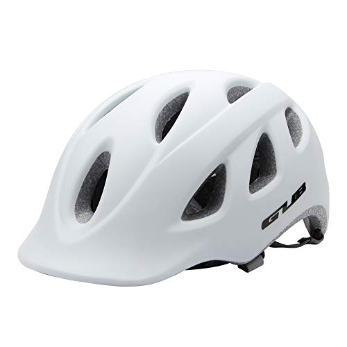 MTSBW Fahrradhelm Fahrrad Schutz Ultraleichte Integrierte In-Mold Radfahren Stoßdämpfung Outdoor Cross Country Mountain,White