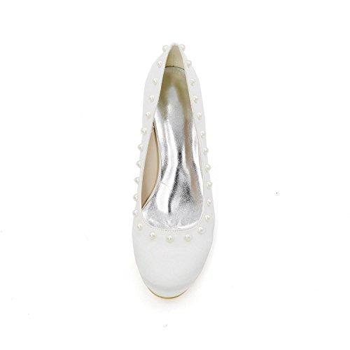 Robes Mariage Chaussures Taille L Chaussures YC Grande De 01 De PersonnaliséEs Talon silver Hauts De Talons Femmes 9140 ZF1Awqp