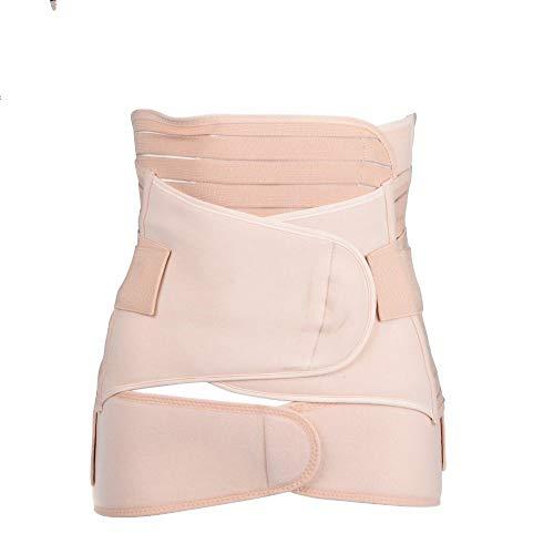 pewear,Taille Trainer 3 Stück/Set Mutterschaft Postnatale Riemen Nach Der Schwangerschaft Verband Bauchband Taillenkorsett Schwangere Frauen Schlank Shaper, Photo Color, XL ()