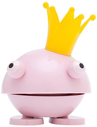 Hoptimist Baby Princess Kvik, Klein, Frosch mit Krone, Deko- / Spielidee, Kunststoff, Hellrosa, 8008-41
