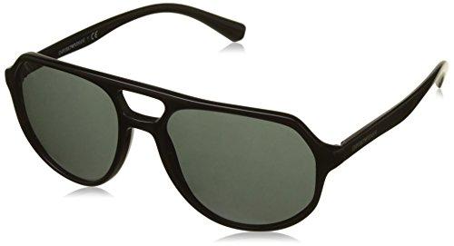 Emporio Armani Herren 0ea4111 Sonnenbrille, Schwarz (Black), 57