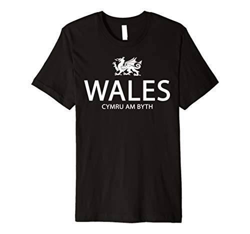 CYMRU WALES T SHIRT WELSH T-SHIRT DRAGON WELSH FLAG SHIRT (Dragon Youth Tshirt)