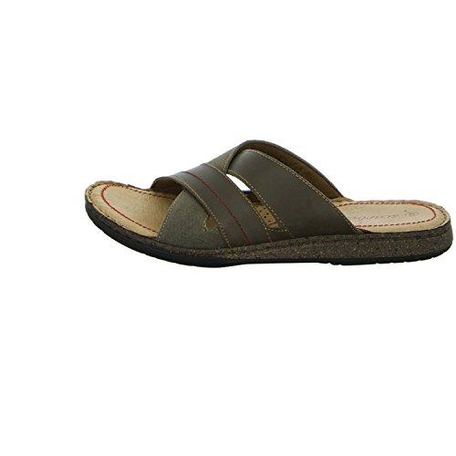 scarbello Y57-Y57-01 Herren Pantolette sportlicher Boden Braun (Braun)