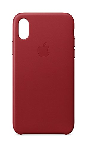 Apple Custodia per iPhone X in Pelle - Rosso