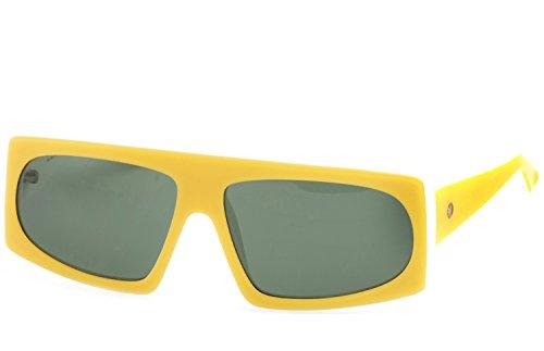 FUNK Sonnenbrille Banana (Rahmen: Yellow White | Gläser: Green)