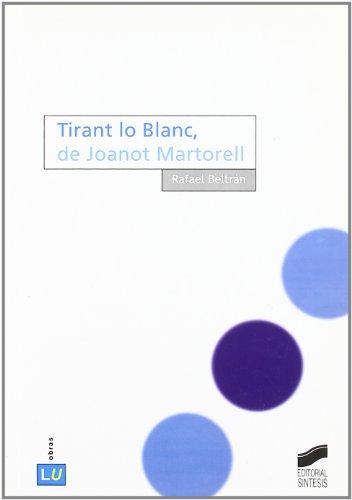 Tirant lo Blanc, de Joanot Martorell Cover Image
