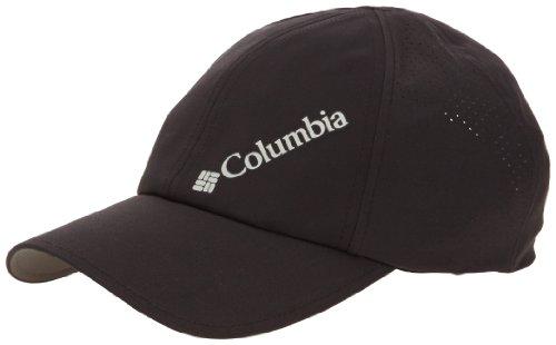 Columbia Silver Ridge Ball Cap Gorra, Hombre, Negro, Talla única Ajustable