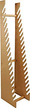 Standing Wood Board Rack Large - 20 Slots